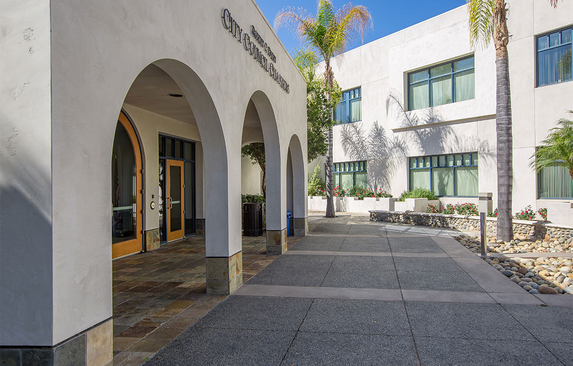 Poway City Offices Exterior