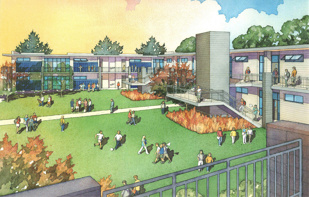 La Jolla Country Day School - Masterplan