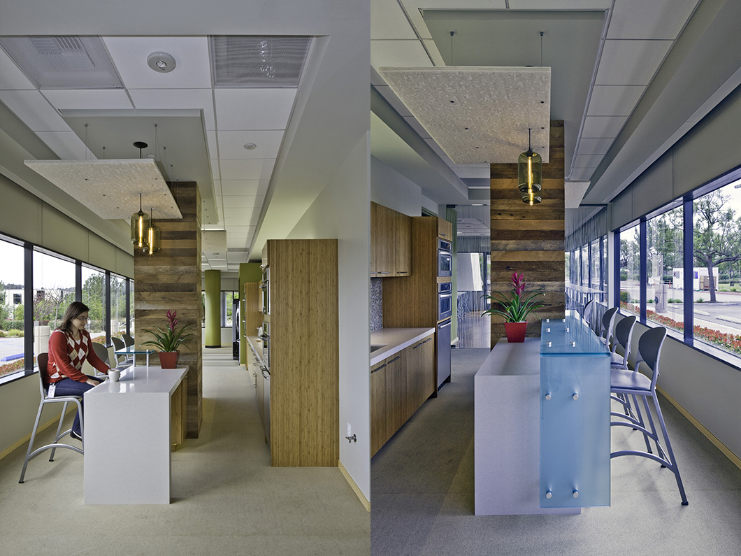 Takeda California East Breakroom Designed By Fpba