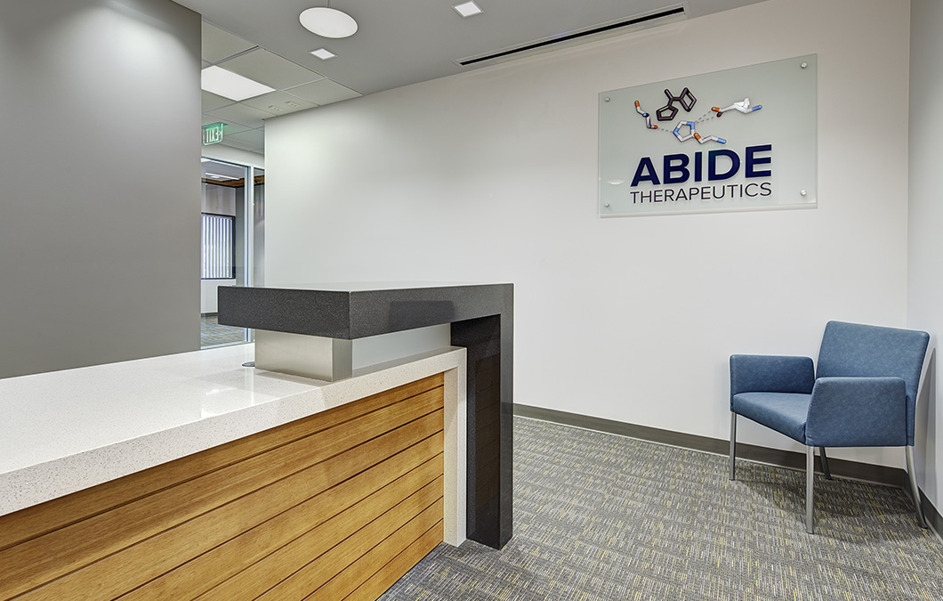 Abide Reception and Lobby Area