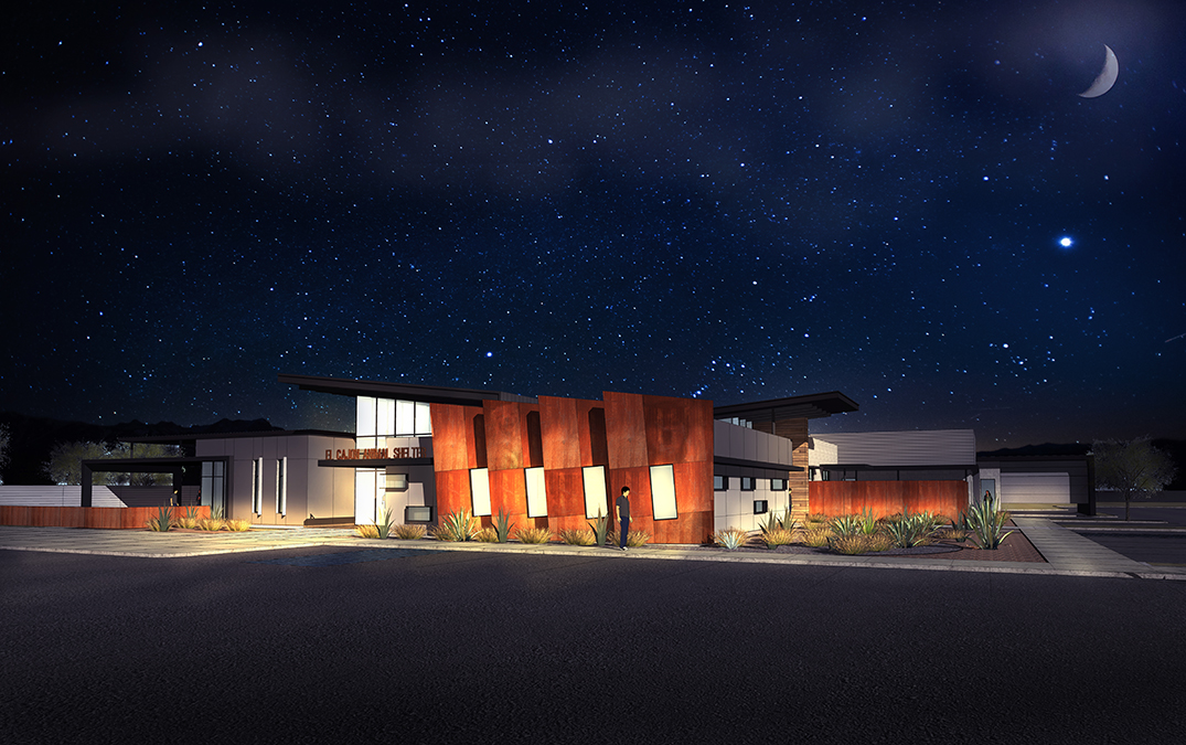 El Cajon Animal Shelter Rendering