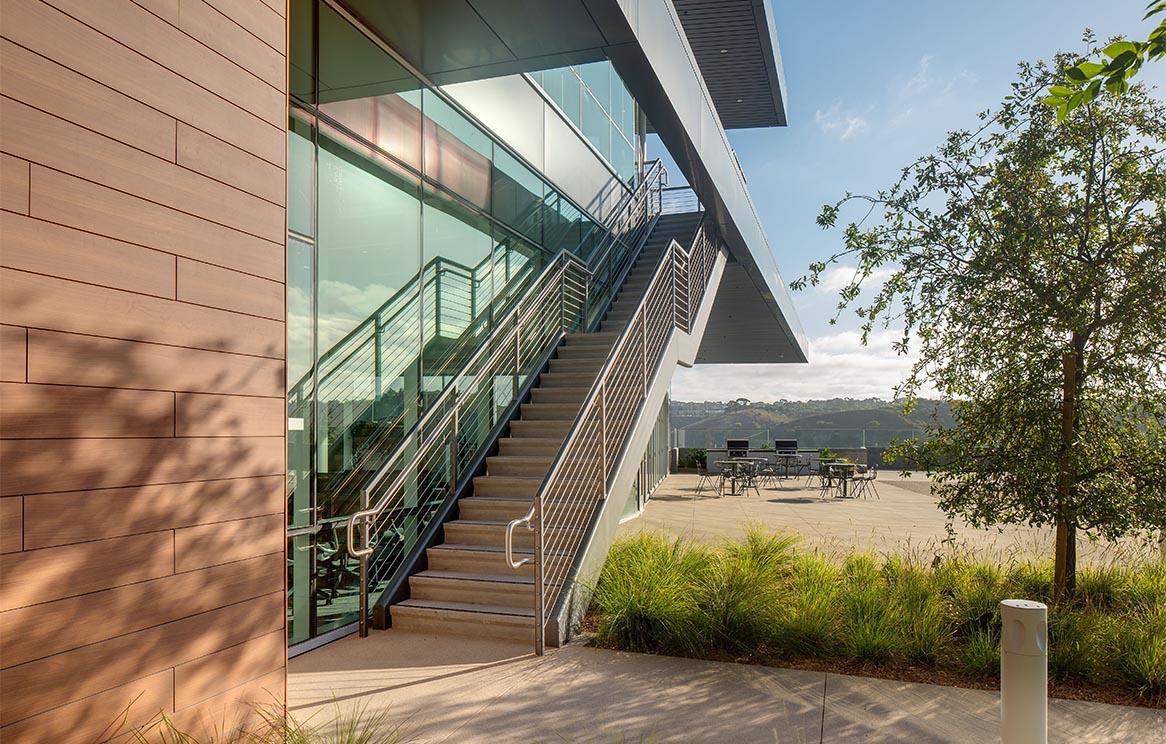 NuVasive Experience Center Exterior Stair