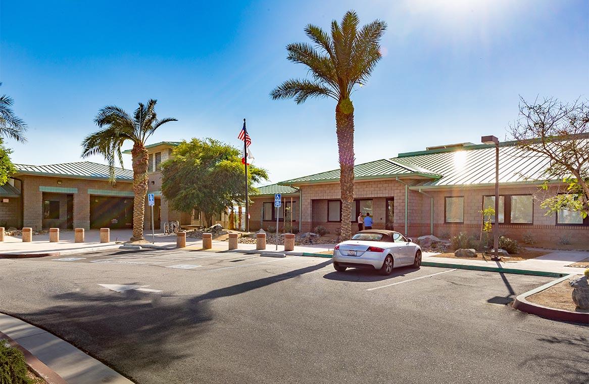 CVWD Critical Support Services Building Exterior
