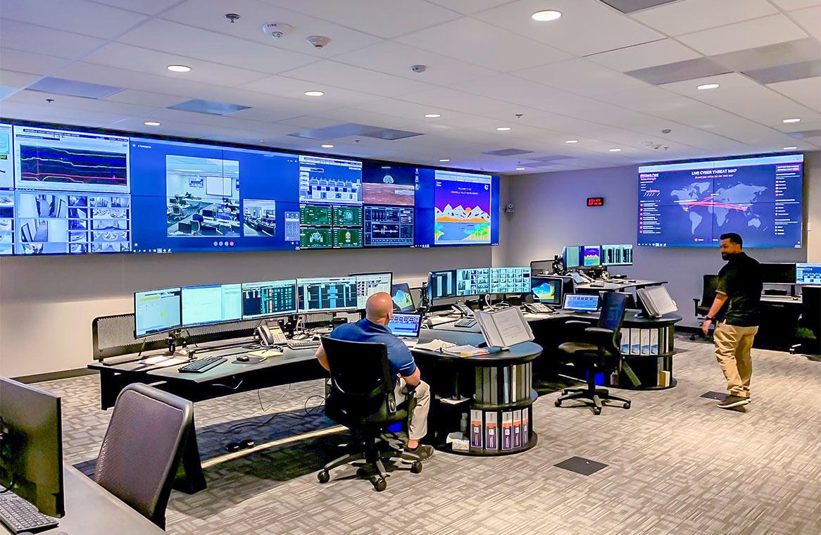 CVWD Critical Support Services SCADA Control Room