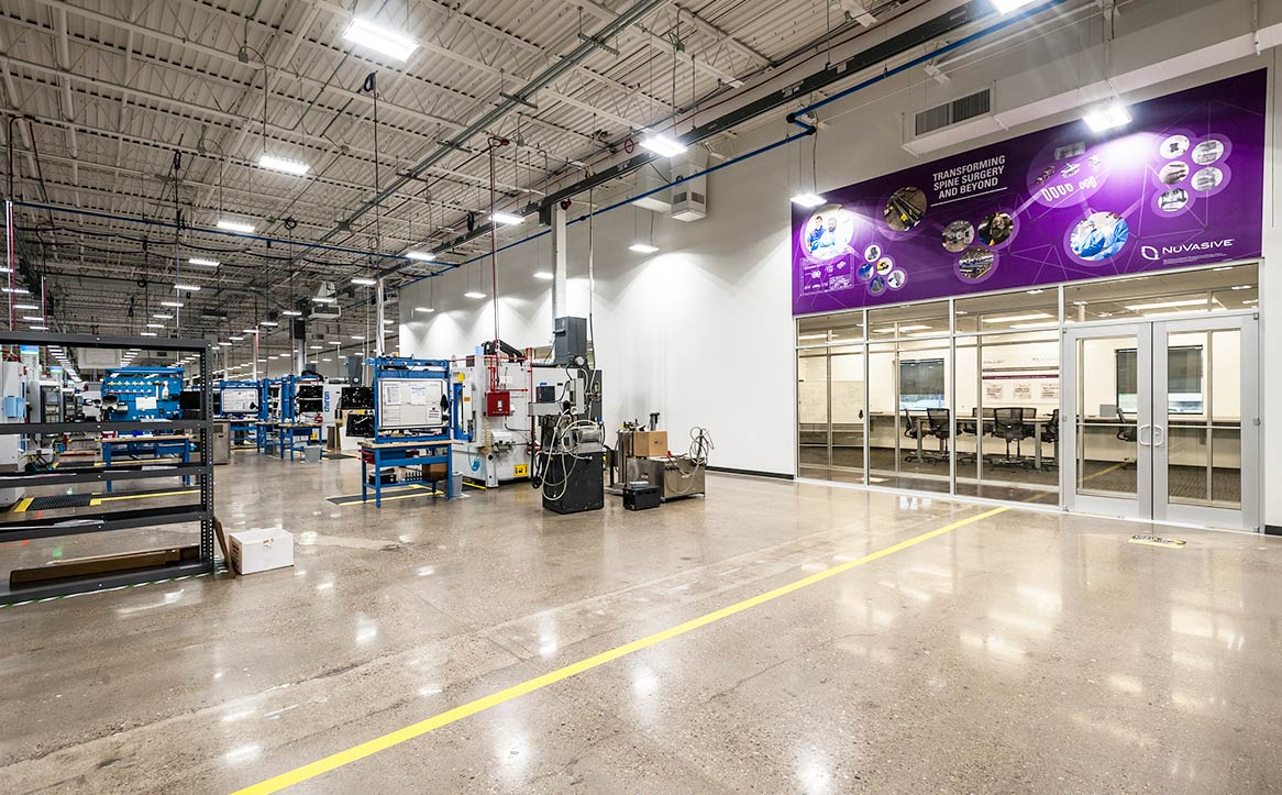 NuVasive Ohio Manufacturing Space