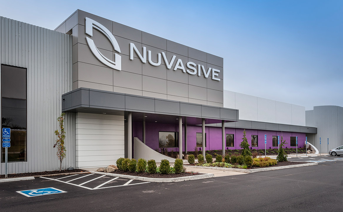 NuVasive Ohio Exterior Entrance
