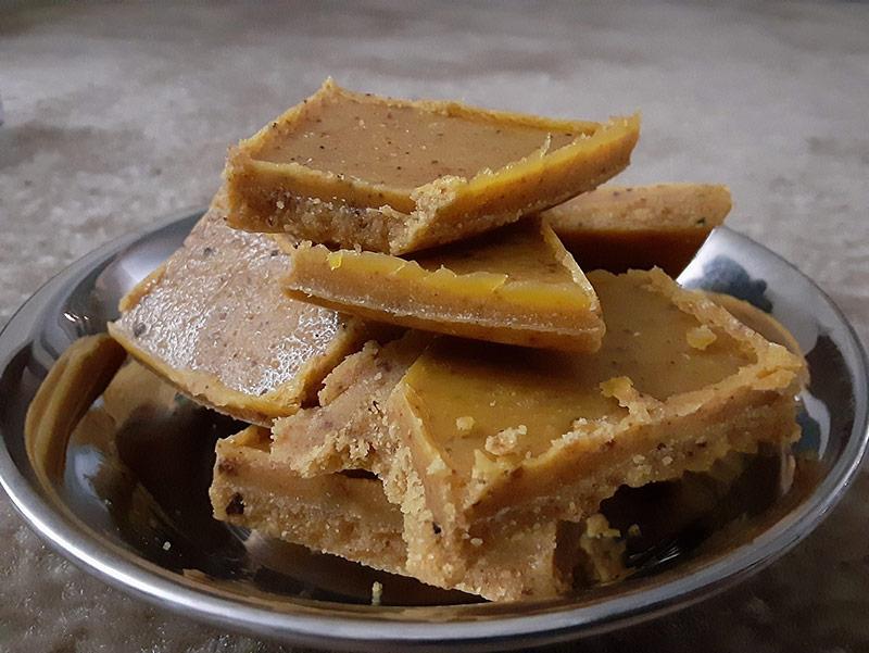 Indian sweet - Besan Barfi