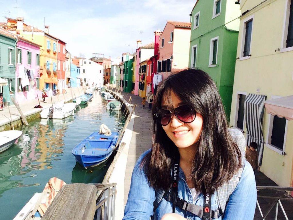 Jane in Venice