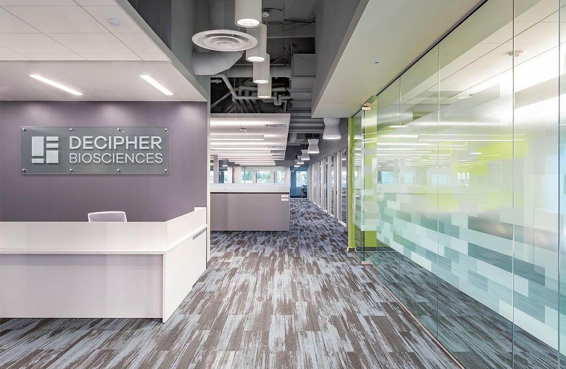 Decipher Bio Reception Area